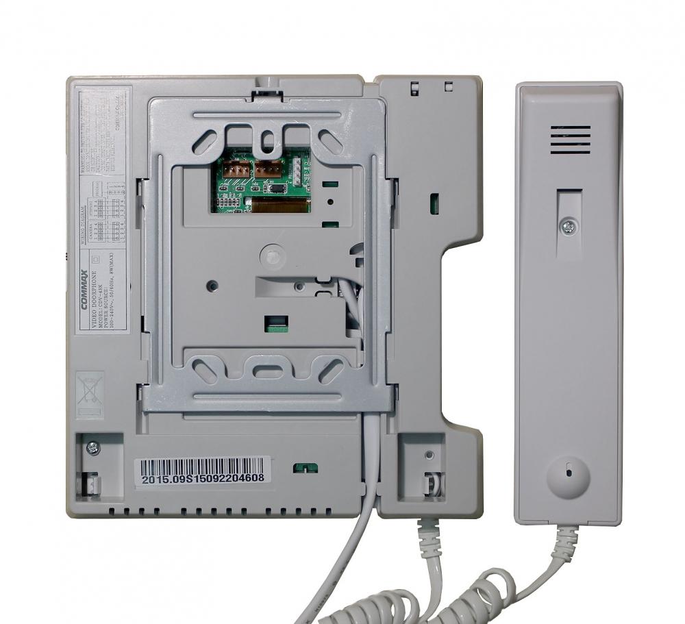 инструкция dp-2s, трубка аудиодомофона commax.